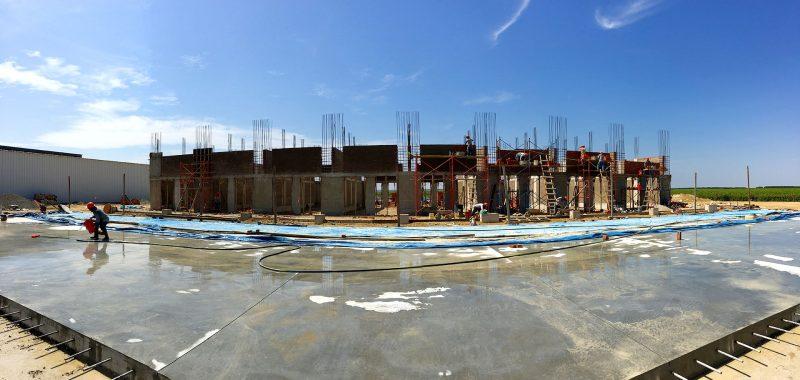 Construcción de packing de uva - El Pedregal - Piura