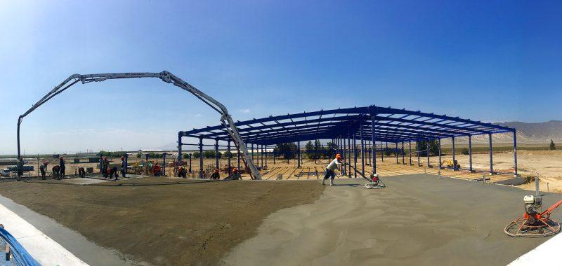 Construcción de packing de uva - El Pedregal - Trujillo