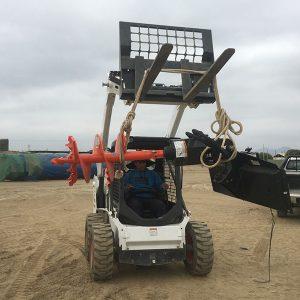 MINICARGADOR BOBCAT S570 + MONTACARGA (carga máxima 942 kg)